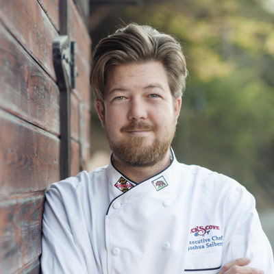 Joshua Seibert, Executive Chef at Nick's Cove