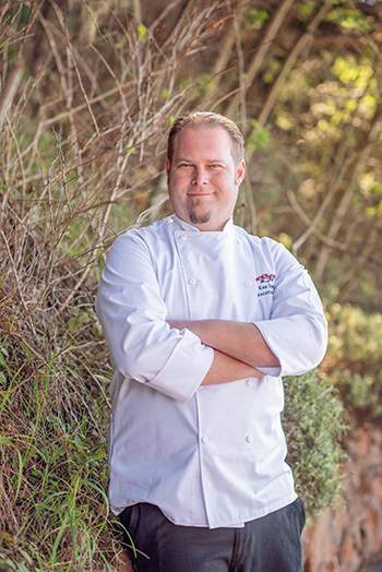 Kua Speer, Executive Chef at Nick's Cove