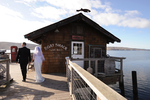 a wedding at nick's cove