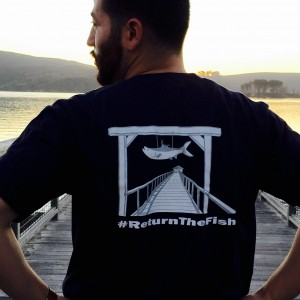 ReturnTheFish shirt Nick's Cove