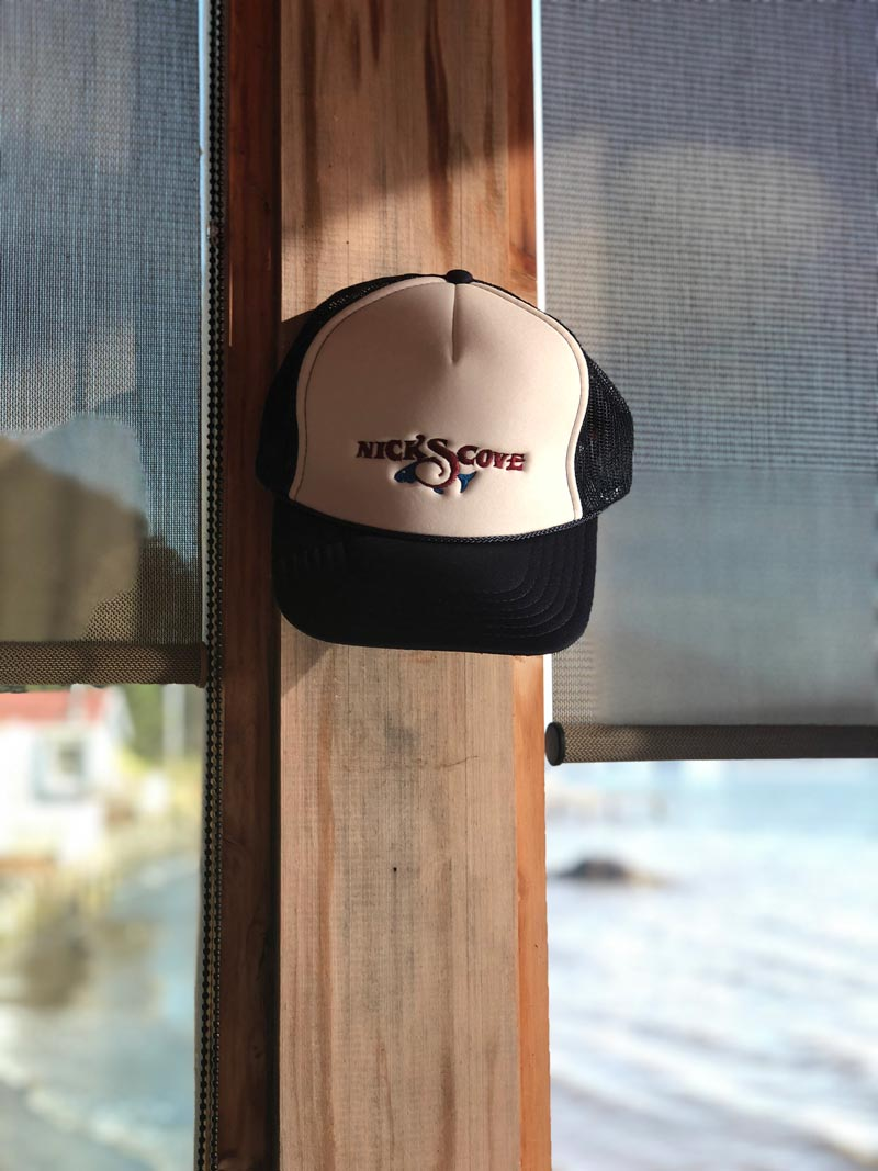 nicks cove trucker hat