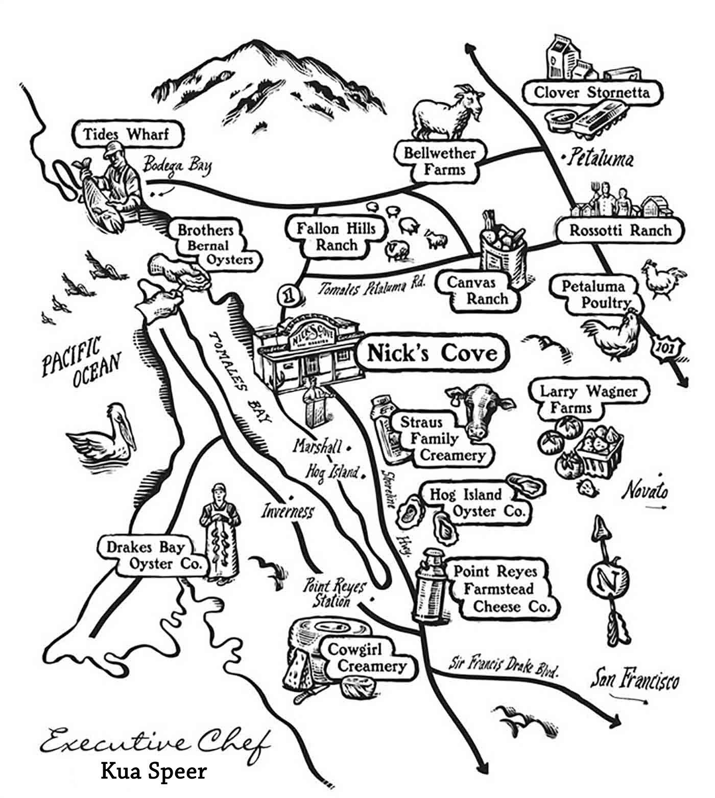 nicks cove sources map